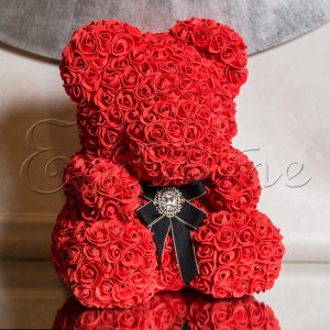 LITTLE LOVE BEAR with SWAROVSKI - RED